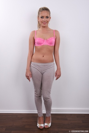 Sweet shape blonde looks attractive with - XXX Dessert - Picture 4