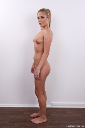 Sweet shape blonde looks attractive with - XXX Dessert - Picture 19