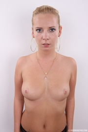 young blonde chick with