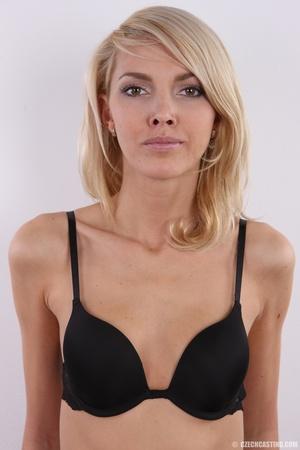 Slim exotic looking blonde shows hot tig - XXX Dessert - Picture 10