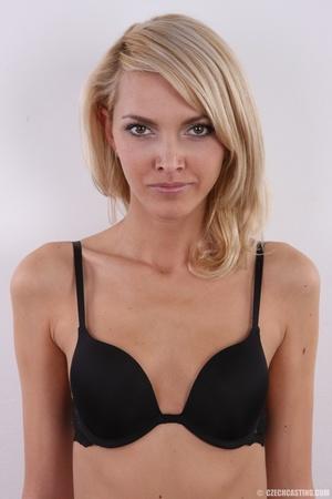 Slim exotic looking blonde shows hot tig - XXX Dessert - Picture 15