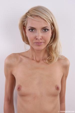 Slim exotic looking blonde shows hot tig - XXX Dessert - Picture 24