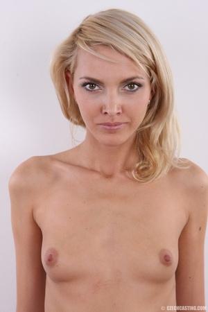 Slim exotic looking blonde shows hot tig - XXX Dessert - Picture 25