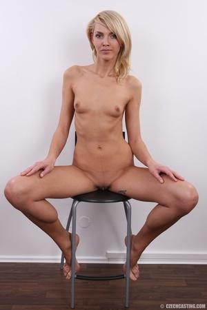 Slim exotic looking blonde shows hot tig - XXX Dessert - Picture 33