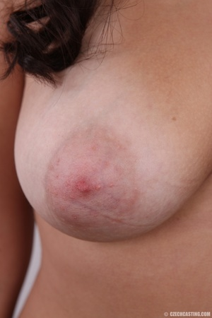 Plump cute faced brunette with sweet big - XXX Dessert - Picture 11