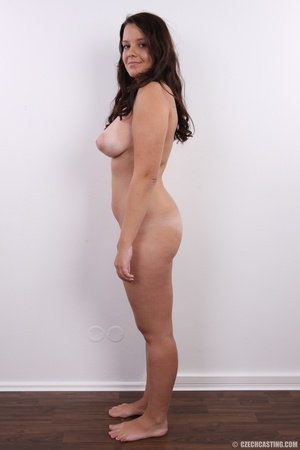 Plump cute faced brunette with sweet big - XXX Dessert - Picture 14