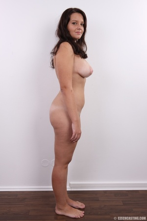 Plump cute faced brunette with sweet big - XXX Dessert - Picture 15