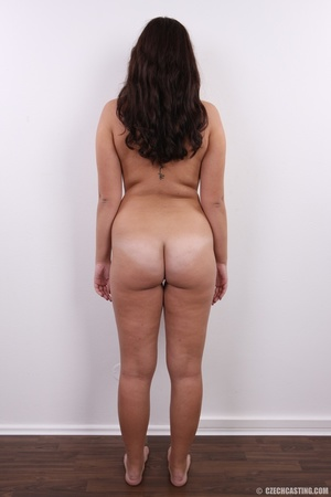Plump cute faced brunette with sweet big - XXX Dessert - Picture 16