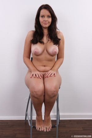 Plump cute faced brunette with sweet big - XXX Dessert - Picture 18