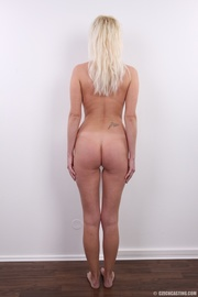 hot blonde lady with