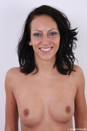 Nice happy chick shows pussy hungry for  - XXX Dessert - Picture 12