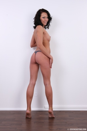 Nice happy chick shows pussy hungry for  - XXX Dessert - Picture 21