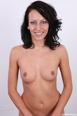 Nice happy chick shows pussy hungry for  - XXX Dessert - Picture 25