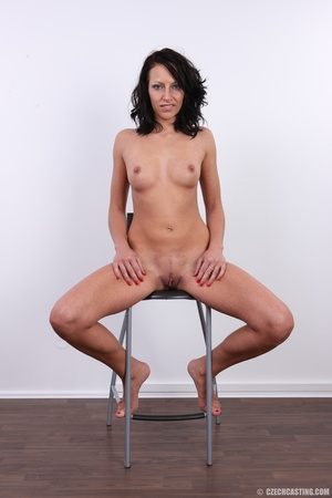 Nice happy chick shows pussy hungry for  - XXX Dessert - Picture 30