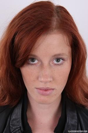 Innocent looking redhead with slim figur - XXX Dessert - Picture 1
