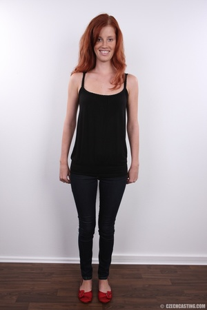 Innocent looking redhead with slim figur - XXX Dessert - Picture 3