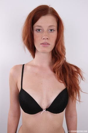 Innocent looking redhead with slim figur - XXX Dessert - Picture 7