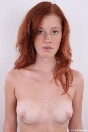 Innocent looking redhead with slim figur - XXX Dessert - Picture 16