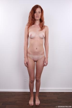 Innocent looking redhead with slim figur - XXX Dessert - Picture 19