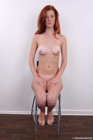 Innocent looking redhead with slim figur - XXX Dessert - Picture 23