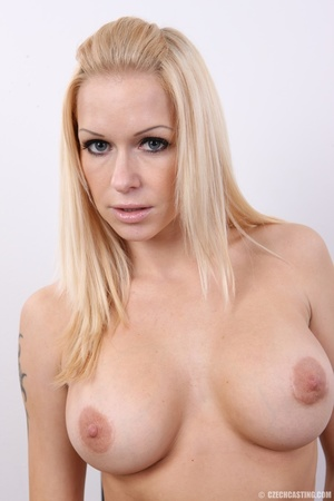 Cute blonde sex goddess with big hot tit - XXX Dessert - Picture 26