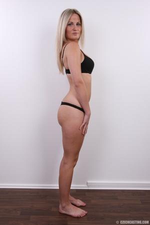 Hot blonde vixen with soft boobs, round  - XXX Dessert - Picture 8