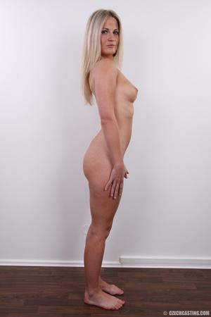 Hot blonde vixen with soft boobs, round  - XXX Dessert - Picture 15