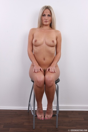 Hot blonde vixen with soft boobs, round  - XXX Dessert - Picture 18