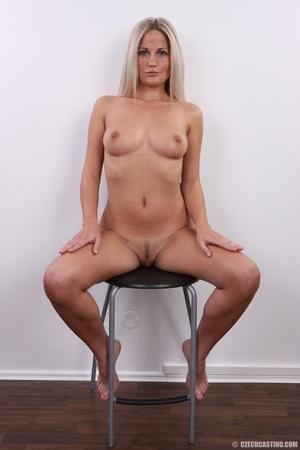 Hot blonde vixen with soft boobs, round  - XXX Dessert - Picture 19