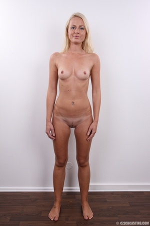 Shy cute blond with soft eyes show sweet - XXX Dessert - Picture 15