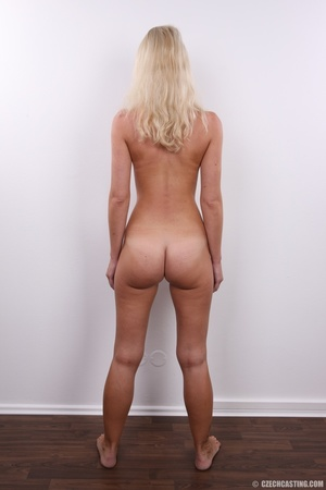 Shy cute blond with soft eyes show sweet - XXX Dessert - Picture 16