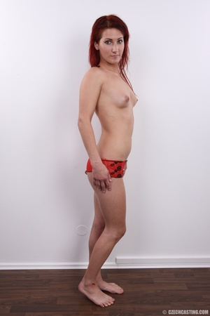 Young redhead with sweet small tits, fin - XXX Dessert - Picture 13