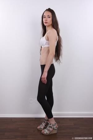 Slim brunette with very bushy pussy, hot - XXX Dessert - Picture 4