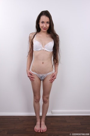 Slim brunette with very bushy pussy, hot - XXX Dessert - Picture 7