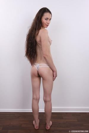 Slim brunette with very bushy pussy, hot - XXX Dessert - Picture 14