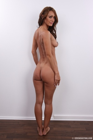 Experienced hot brunette chick with sexy - XXX Dessert - Picture 17