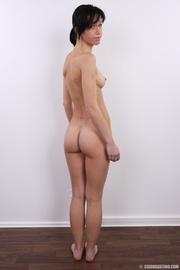 slim seductive chick with