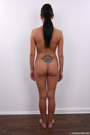 Sweet happy chick with cute tattoo over  - XXX Dessert - Picture 17