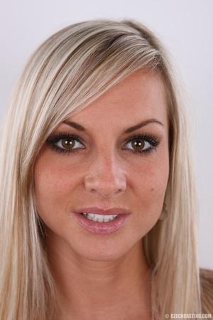 Hot slim blonde with sexy eyes, sexy rou - XXX Dessert - Picture 1