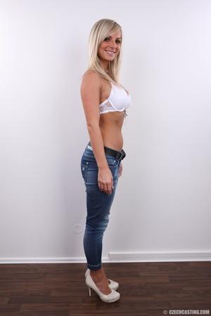 Hot slim blonde with sexy eyes, sexy rou - XXX Dessert - Picture 5