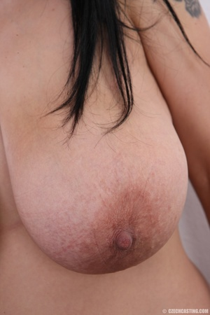 Mature brunette with colorful tattoos, s - XXX Dessert - Picture 12