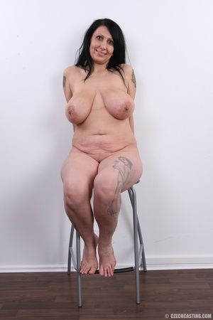 Mature brunette with colorful tattoos, s - XXX Dessert - Picture 21