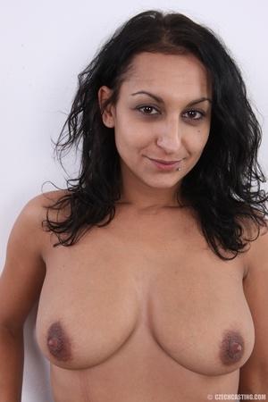 Slim cheerful sexy brunette with charmin - XXX Dessert - Picture 16