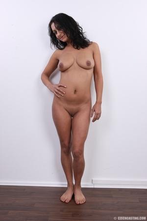 Slim cheerful sexy brunette with charmin - XXX Dessert - Picture 21