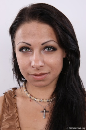 Sexy lady with mysterious sexy eyes, hot - XXX Dessert - Picture 1