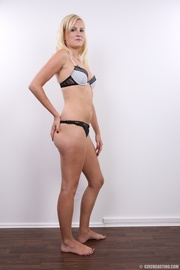 cute long legs blonde