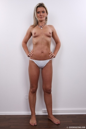 Hot sexy blonde mama with cute small tit - XXX Dessert - Picture 17