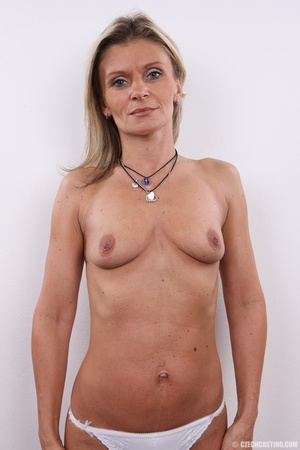 Hot sexy blonde mama with cute small tit - XXX Dessert - Picture 18