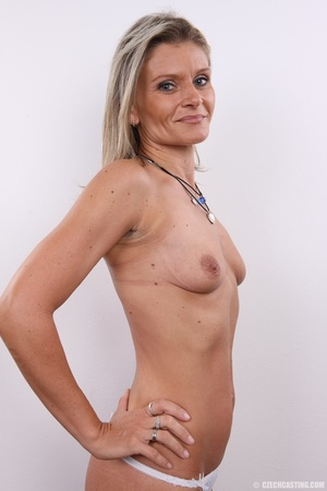 Hot sexy blonde mama with cute small tit - XXX Dessert - Picture 21