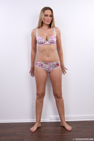 Cute sexy long legged blonde with hot ti - XXX Dessert - Picture 10